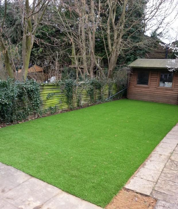 Town Grass installation in Banbury