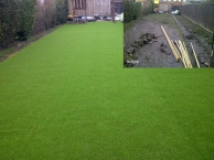 Artificial Grass - Before and After